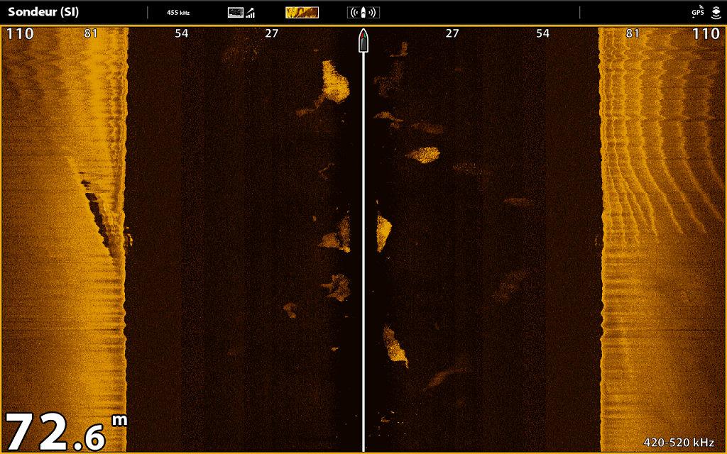 Epave en Side imaging